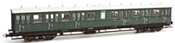 Dutch 4-axle Compartment Coach C12c C 6412