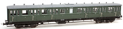 Dutch 4-axle Compartment Coach C12c C 6418