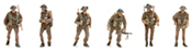 UK Infantry (6 fig)