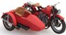 US Motorcycle LIBERATOR red + sidecar