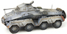 WM Sdkfz 231 8-wheel, 20mmgun, winter gray