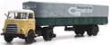 DAF single axle trailer canvas cover cab