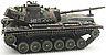 BRD M48 A2 G A2 Eisenbahntr. load  camouflage