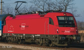 Austrian Electric Locomotive Rh 1216 Railjet of the OBB