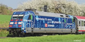 German Electric Locomotive 101042-0 of the DB AG