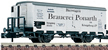 "2-axle Beer Car ""BRAUEREI PONARTH"" in DRG livery"
