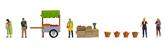 Figure Set: Fruit Stand