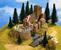 Castle Ruin, 16 x 13 cm, 10 cm high