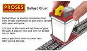 HO/OO Ballast Gluer (Fixer)