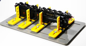 45-90 Degree Loco Service Bench for N, HO, OO and O Scales