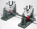 Multi Angle Rotating Locomotive Cradle for N, HO, OO and O Scales