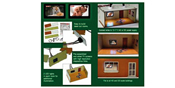 2 pcs Illuminated Rooms w/flat TVs Nature & Erotic (HO/OO kit)