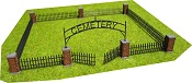 Rural Cemetery Lot w/Movable Gates