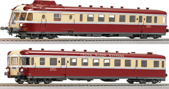 roco 63079 tee diesel powered rail car train rgp of the sncf. Black Bedroom Furniture Sets. Home Design Ideas