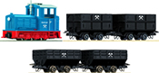 Train set: Diesel locomotive with lorry train
