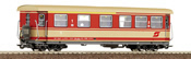 H0e 1/2 Class narrow gauge passenger car of the ÖBB