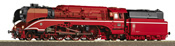 Steam Locomotive BR 18 201 DB AG in red paint