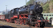 Steam locomotive BR 58, sound