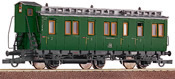 2nd Class Compartment Coach w/ Baggage Compartment, Prussian Construction  DISCONTINUED