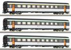 3 -piece set of passenger coaches RENFE