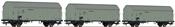3-piece set: Refrigerator wagons, DRG