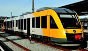 Diesel multiple unit LINT, yellow/grey, AC