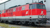 Diesel locomotive Rh 2143, sound, AC