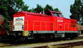 Diesel locomotive S 204, sound, AC