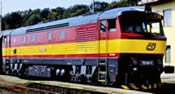 Diesel locomotive Rh751, red/yellow, AC