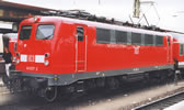 Electric Locomotive BR 141 in the Traffic Red Livery