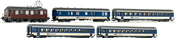 Set: Electric locomotive Ae4/4 of the BLS w/passenger train Sound