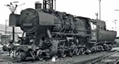 Steam locomotive BR 053, DB w/sound