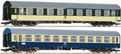 2-piece set: Passenger wagons, DR