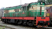 Diesel locomotive 770 of the CD