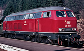 Diesel locomotive BR 218, DB AC w/sound